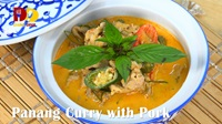 Panang Curry with Pork | Thai Food | พะแนงหมู | Panang Moo