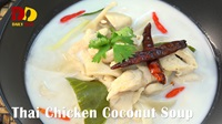 Thai Chicken Coconut Soup | Thai Food | ต้มข่าไก่ | Tom Kha Gai