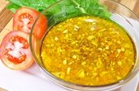 น้ำสลัดน้ำใส Salad Dressing (Green Food - Healthy Food)