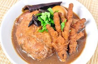 ขาไก่พะโล้ Chicken Feet in Five Spices Soup