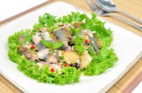 ยำปลาทู Thai Mackerel Spicy Salad