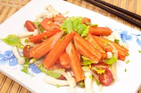 ยำปูอัด Spicy Crab Stick Salad