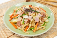 ยากิอุด้ง Yakiu Udon - Stir Fried Udon Noodles | FoodTravel พารวย