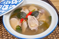 แกงรัญจวน Clear Soup in Traditional Thai Style
