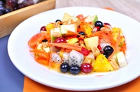 ตำผลไม้ Mixed Fruit Spicy Salad